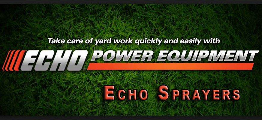 echo sprayers
