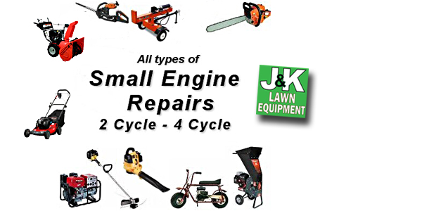 small engine 2 and 3 cycle repairs