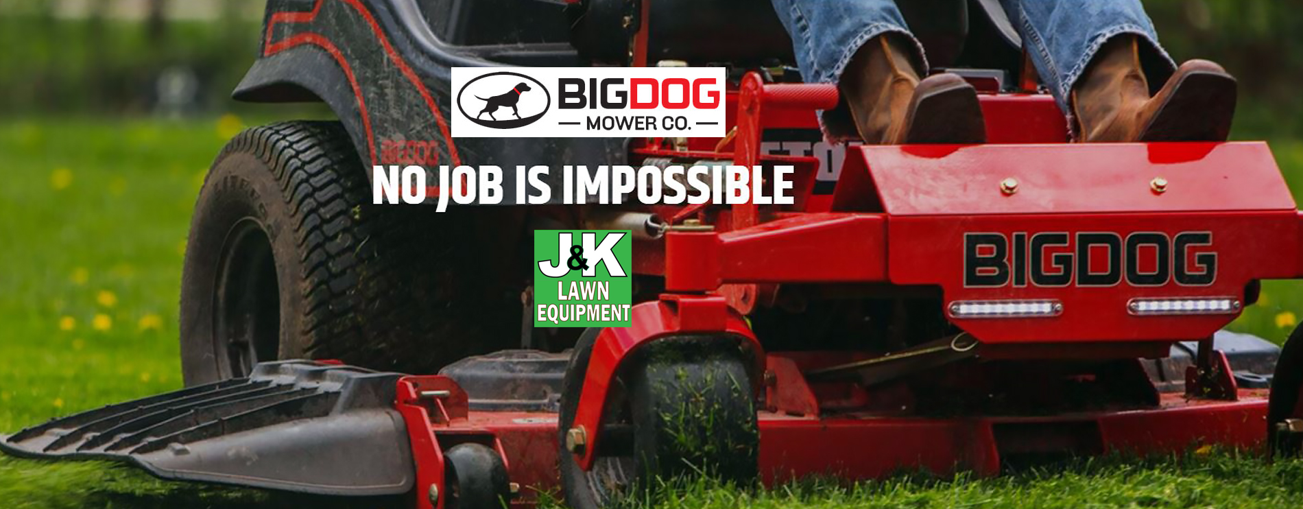 Big Dog Zero Turn Mowers, J and K Lawn Equipment