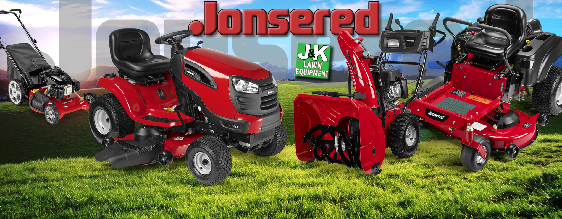 Jonsered Lawn Equipment, J and K Lawn Equipment